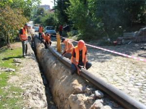 Проводиться реконструкція підземного газопроводу